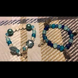Jewelry - Lot 3 ** 9 home made bracelets